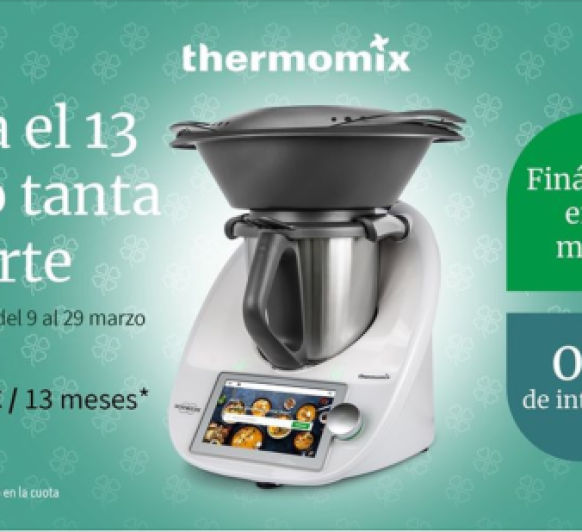 Thermomix® financiada sin intereses