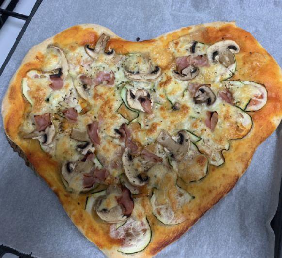 Pizza con amor