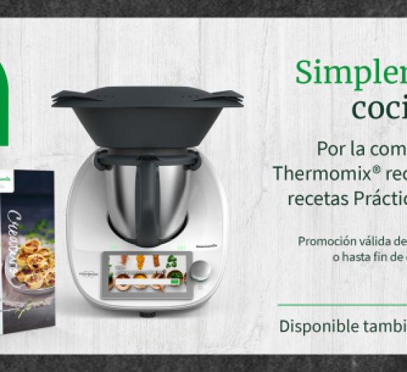 PROMO Thermomix® CON LIBRO ¿TE LA VAS A PERDER?