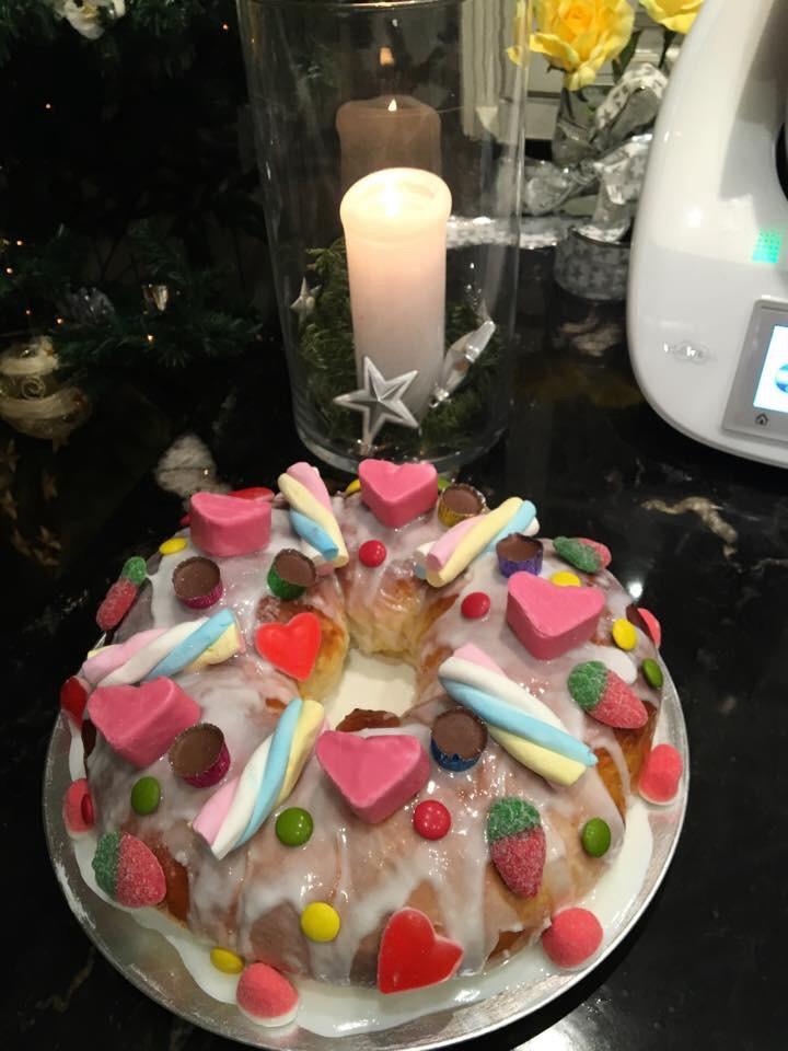 Roscón de Reyes a mi manera !!