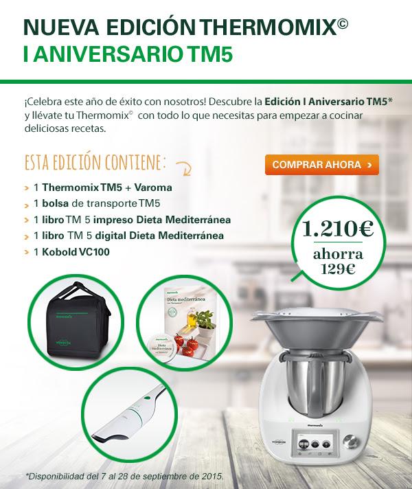 Nueva Edición Thermomix® 1°Aniversario TM 5