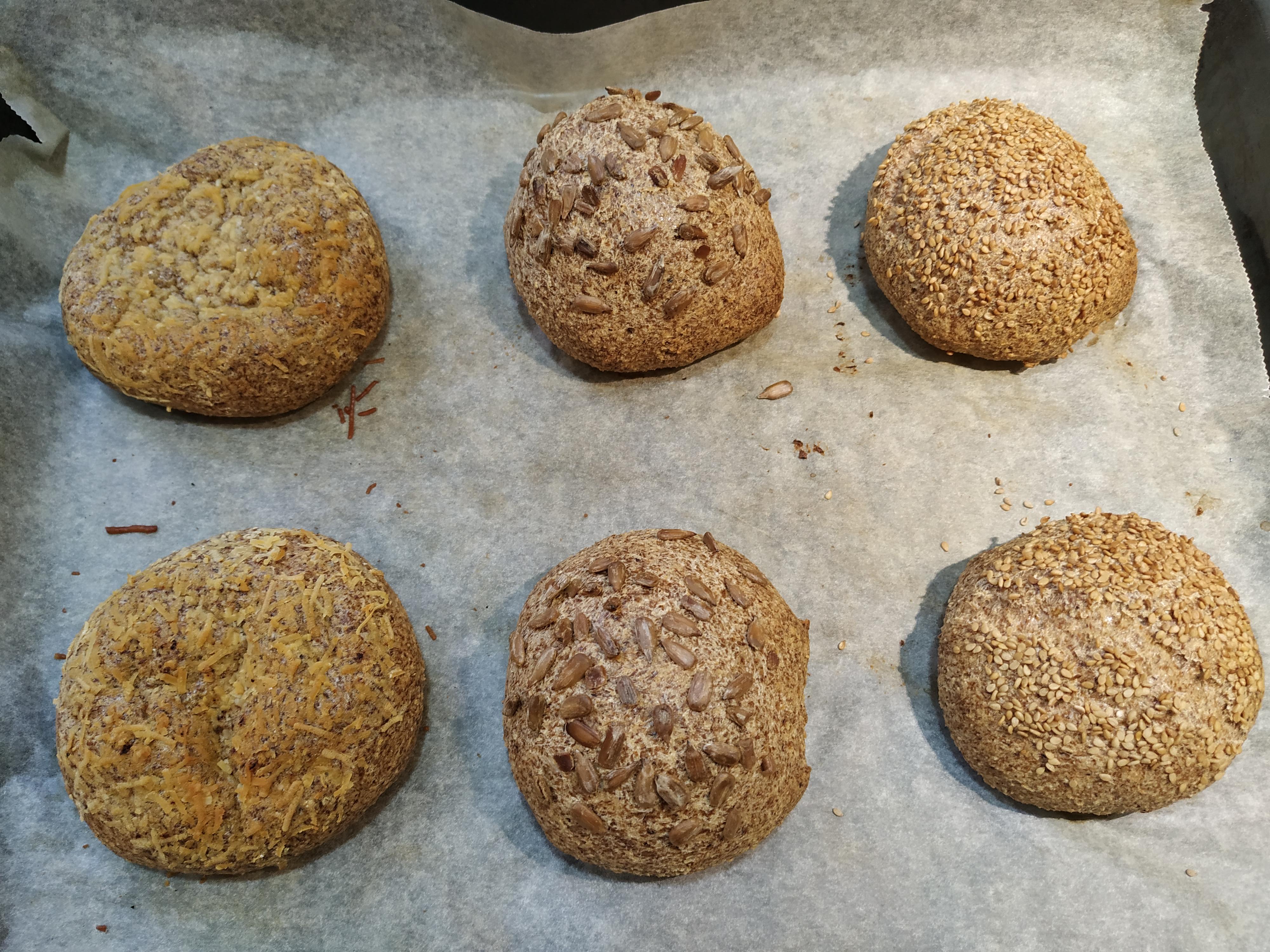 Pan sin hidratos de carbono thermomix