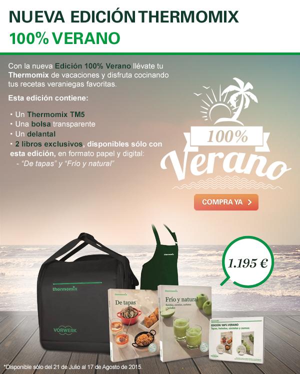 Edición 100% Verano AMPLIADA HASTA EL 7 DE SEPTIEMBRE 2015
