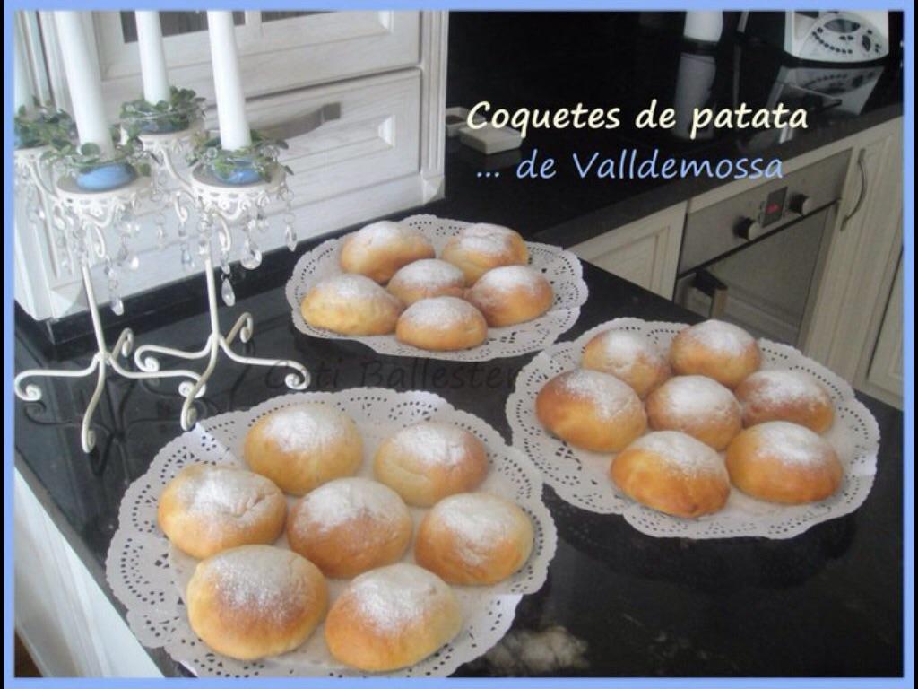 Coquitas de Patata de Valldemossa