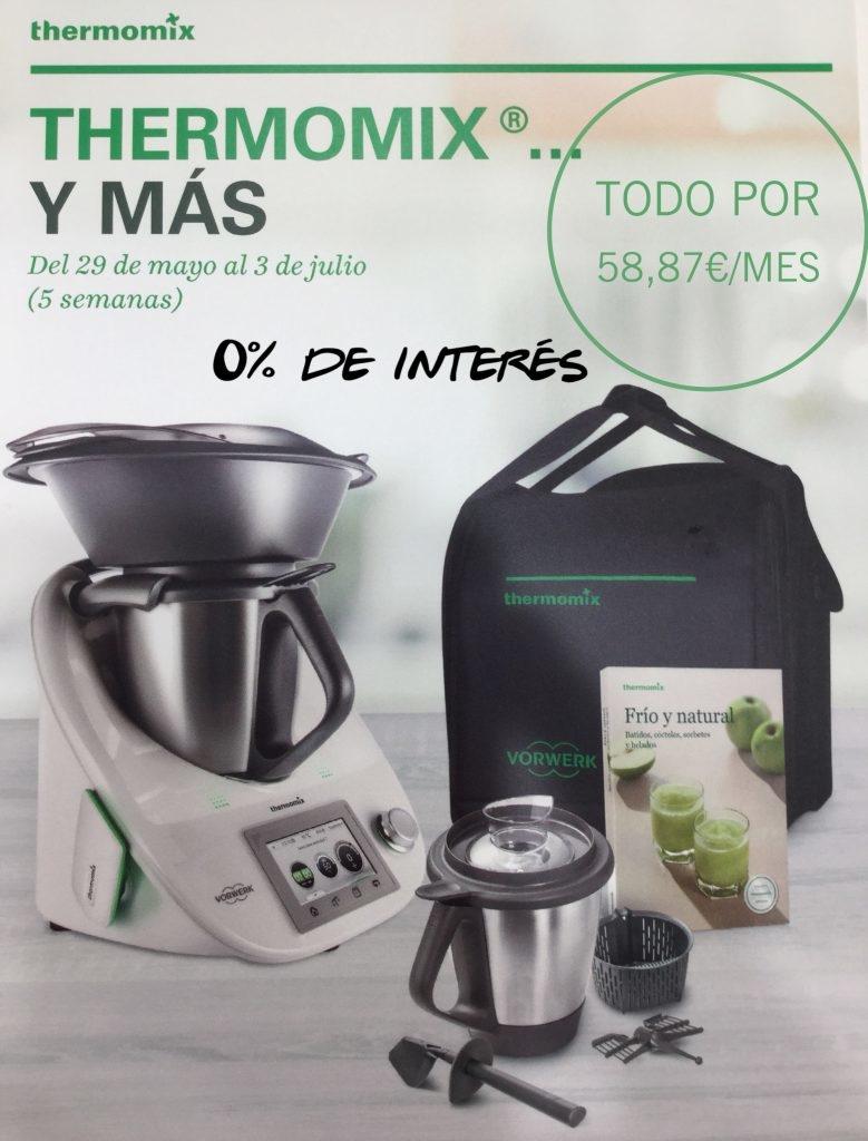 ¡¡¡Thermomix® con segundo vaso al 0% de interés!!!
