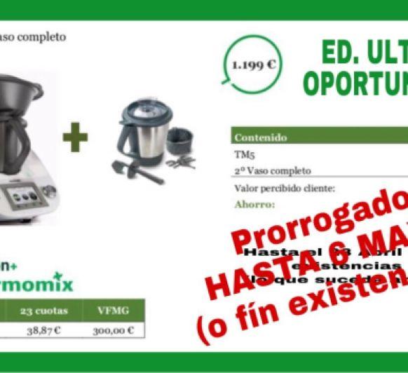 Edición ÚLTIMA OPORTUNIDAD !!