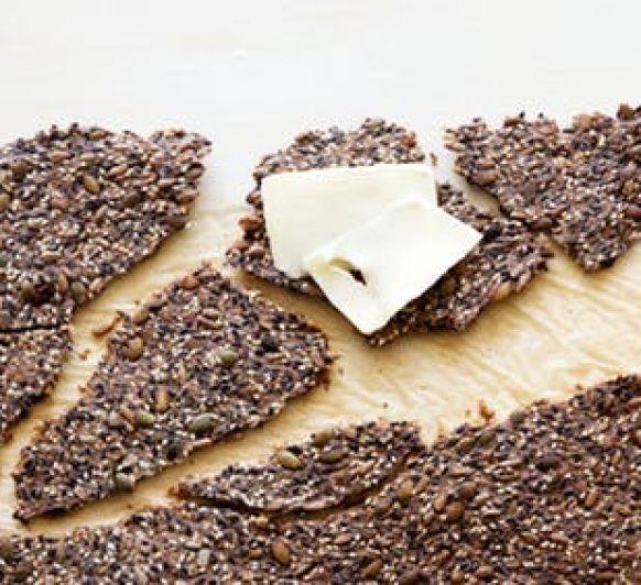 Galletas saladas de semillas, con Thermomix®