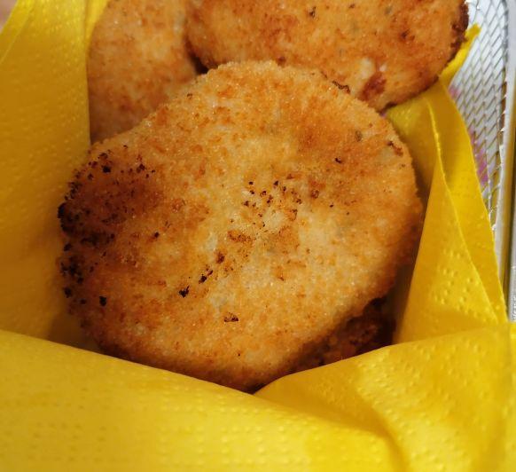 Nuggets de pollo o pepitas de pollo
