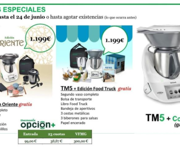 Últimas ediciones Thermomix® TM5
