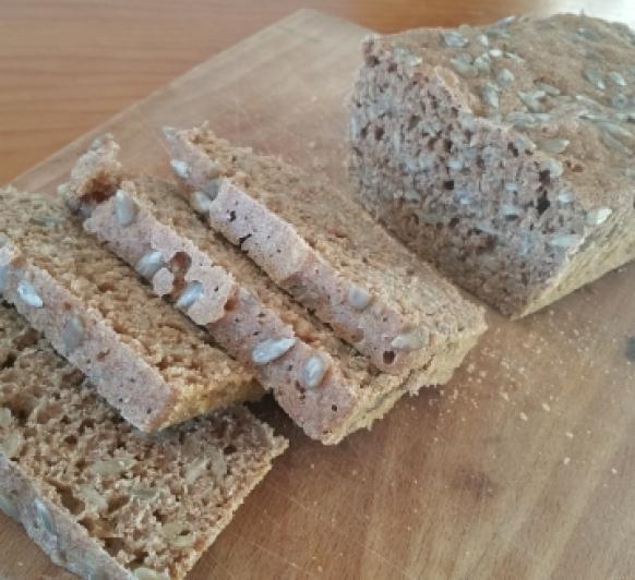 Pan integral de espelta al vapor, con Thermomix®