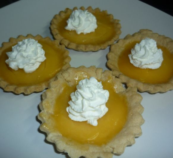 Tartas de limon y merengue italiano