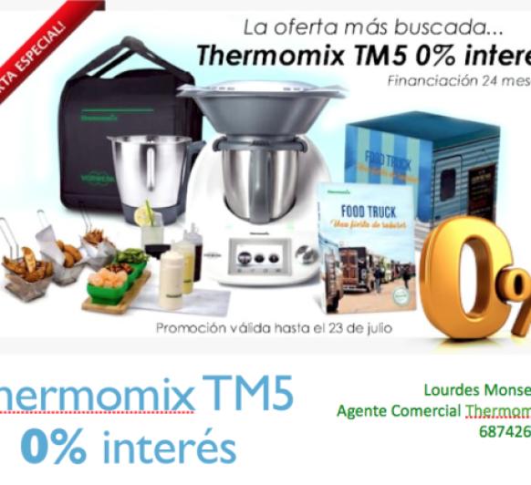 Thermomix® SIN INTERESES HASTA EL LUNES 23 DE JULIO.