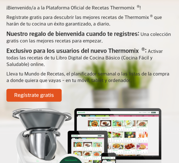 Nueva plataforma Thermomix®