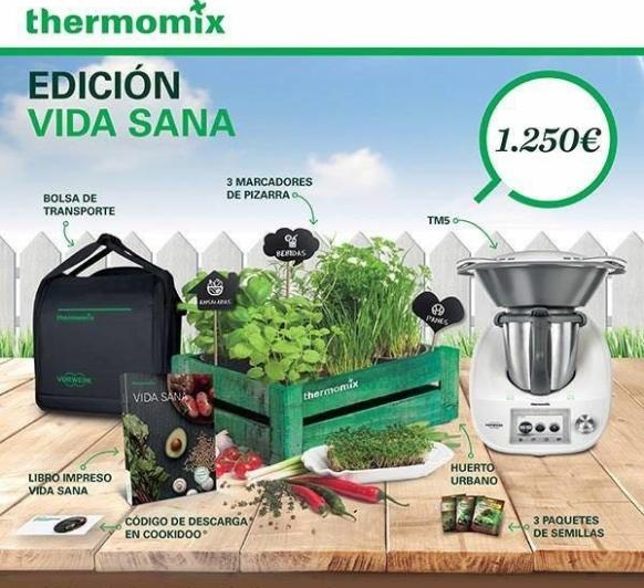 Edicion VIDA SANA 3 aniversario Thermomix® 5