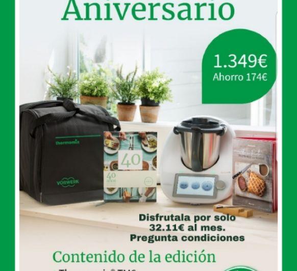 Thermomix® celebra 40 años en España