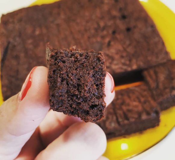 Brownie keto, con Thermomix®