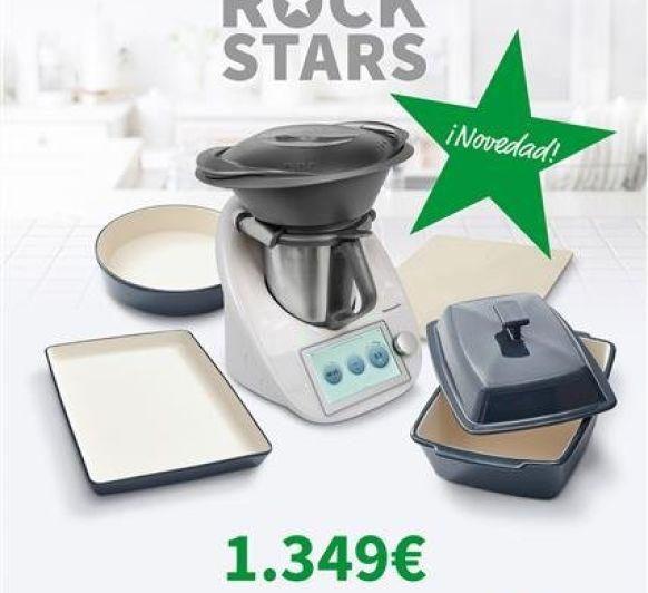 Thermomix® edición Rock Stars, el nuevo menaje para tu cocina