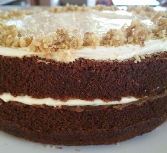 Tarta de zanahoria o Carrot Cake Saludable, con Thermomix®