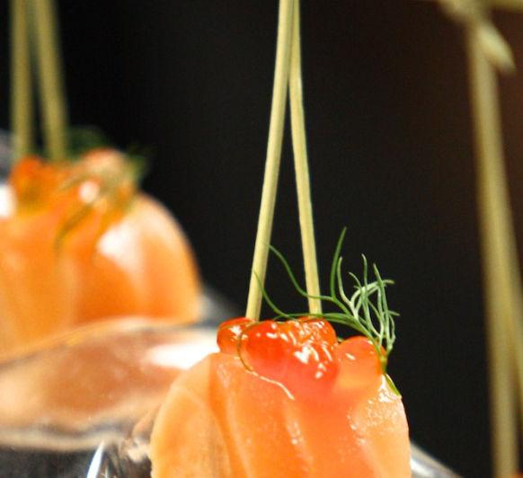 Ballotine de salmon-(rollo de salmón)
