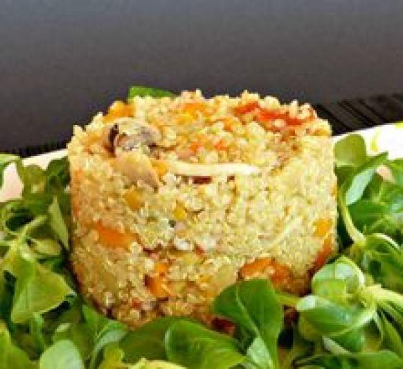 Receta Thermomix® - Quinoa con verduras salteadas