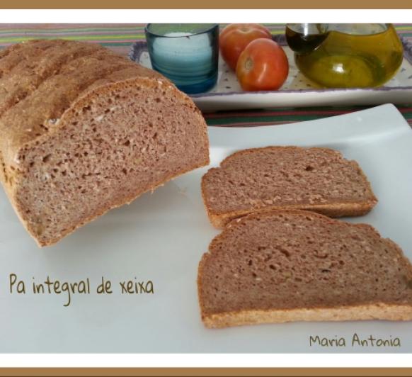 Pan integral de xeixa