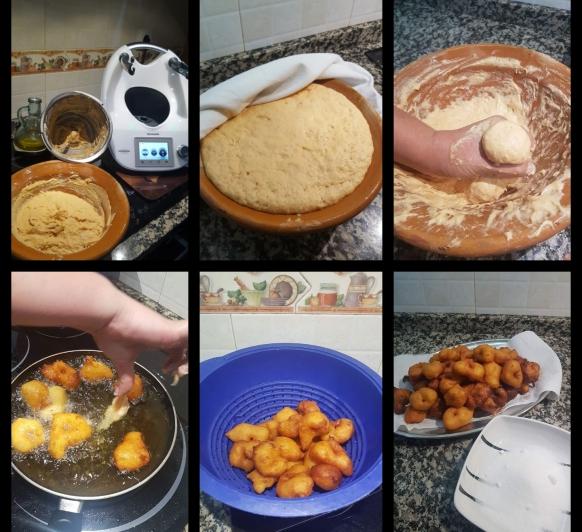 Buñuelos de Boniato o Patata y técnica para hacerlos