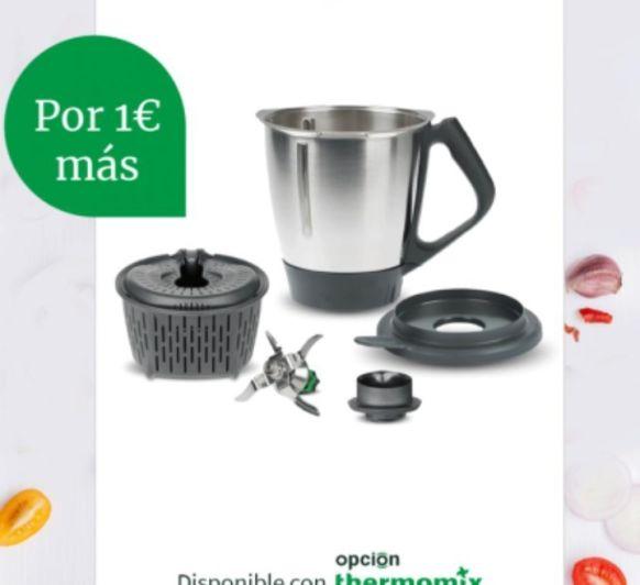 Thermomix® tm6 y segundo vaso por 1€ más
