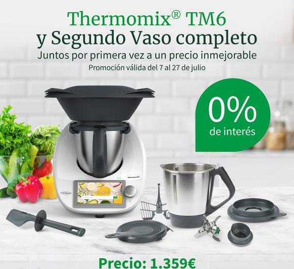 Thermomix® TM6 y 2º vaso completo