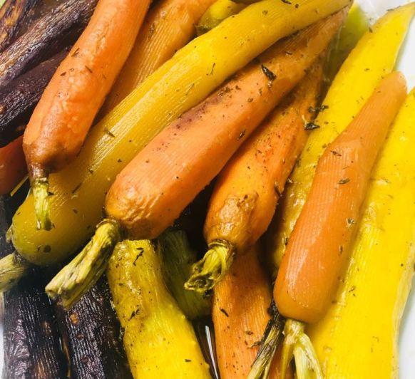Zanahorias glaseadas-ESPECIAL BUFFET
