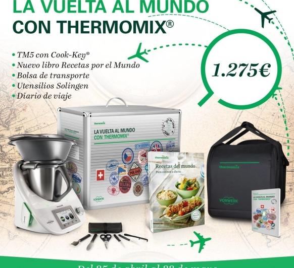 Nueva edición 'LA VUELTA AL MUNDO CON Thermomix® '