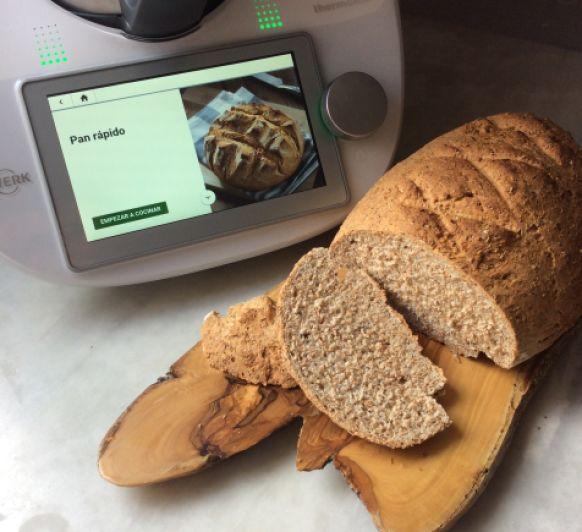 Pan rápido, siempre pan del día con Thermomix® .