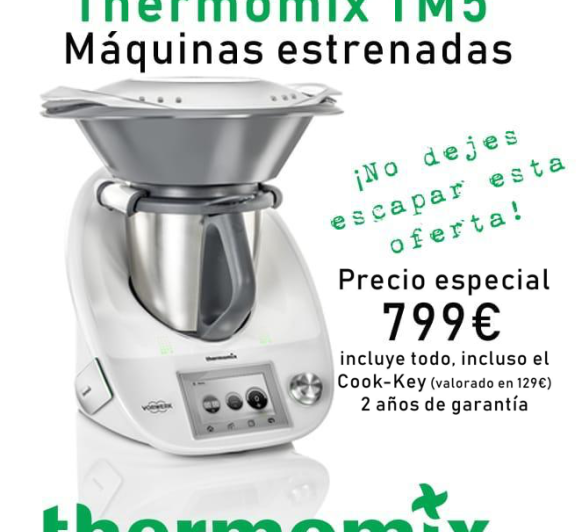 Thermomix® TM5 estrenadas