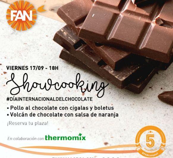 Showcooking chocolate