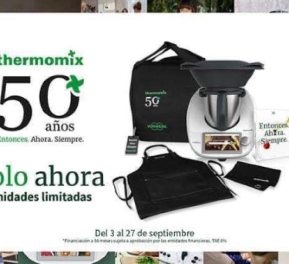 0% intereses- 0€ comisión de apertura- EDICIÓN 50 AÑOS Thermomix®