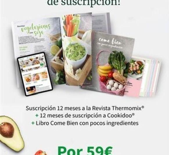 Promoción revista y cookidoo