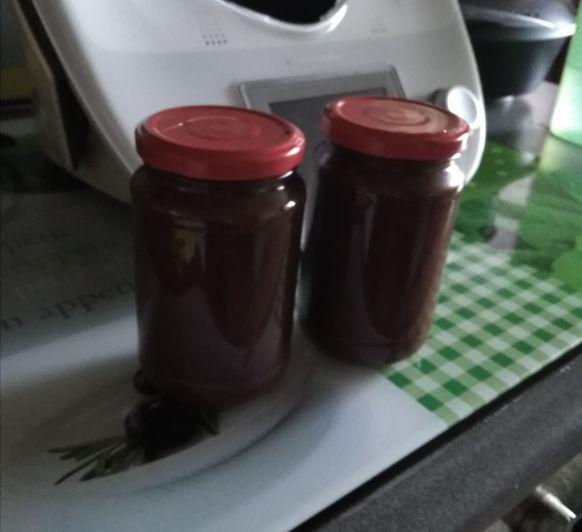 Magdalenas rellenas de crema de cacao